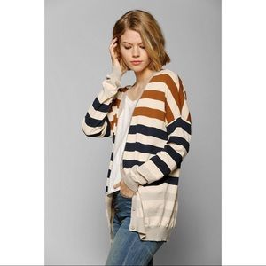 Coincidence & Chance (UO) striped slouchy cardigan